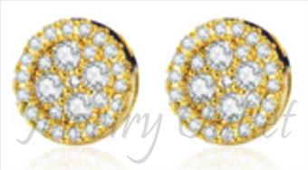 Screw back Earring