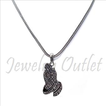 Hip Hop Fashion FrancoNecklaces and Pendant Set with 24 Inch chain