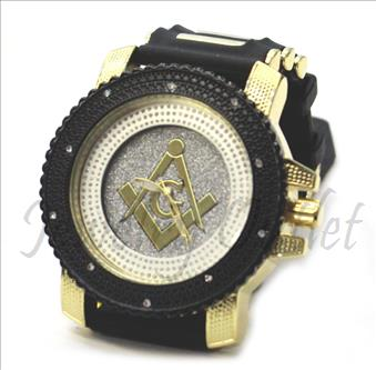 Hip Hop Fashion bling eyes Watch With Black Jelly Band Water Resistant and Stainless Steel Back Cover