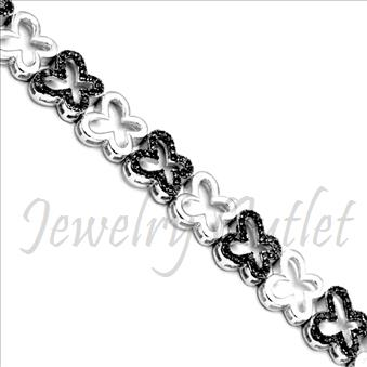 Ladies Bracelet In Sterling Silver