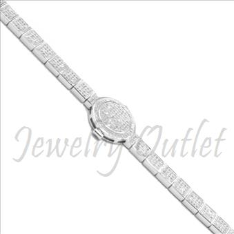 Sterling Silver 925 Ladies Bracelet