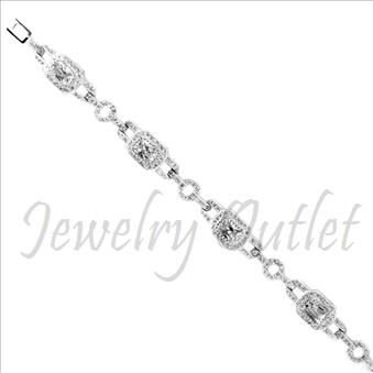 Sterling Silver 925 Ladies Bracelets