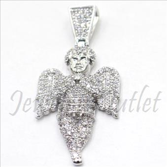 Sterling Silver 925 Angel Pendnat