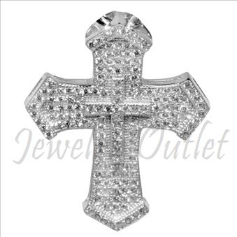 Sterling Silver Ladies Cross