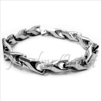 3D Tungsten Carbide Mens Bracelets