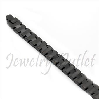 Tungsten carbide men's bracelet