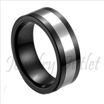 Tungsten High Polished Band
