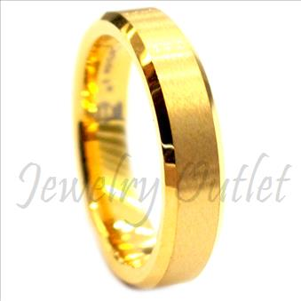 Tungsten Carbi Classic Domed Band With High Polish
