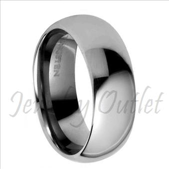Tungsten Carbide High Polished Band