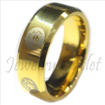 Tungsten Carbide Mens Ring & Comfort Fit Ring