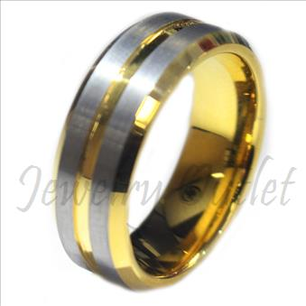 Tungsten Carbide Mens Ring